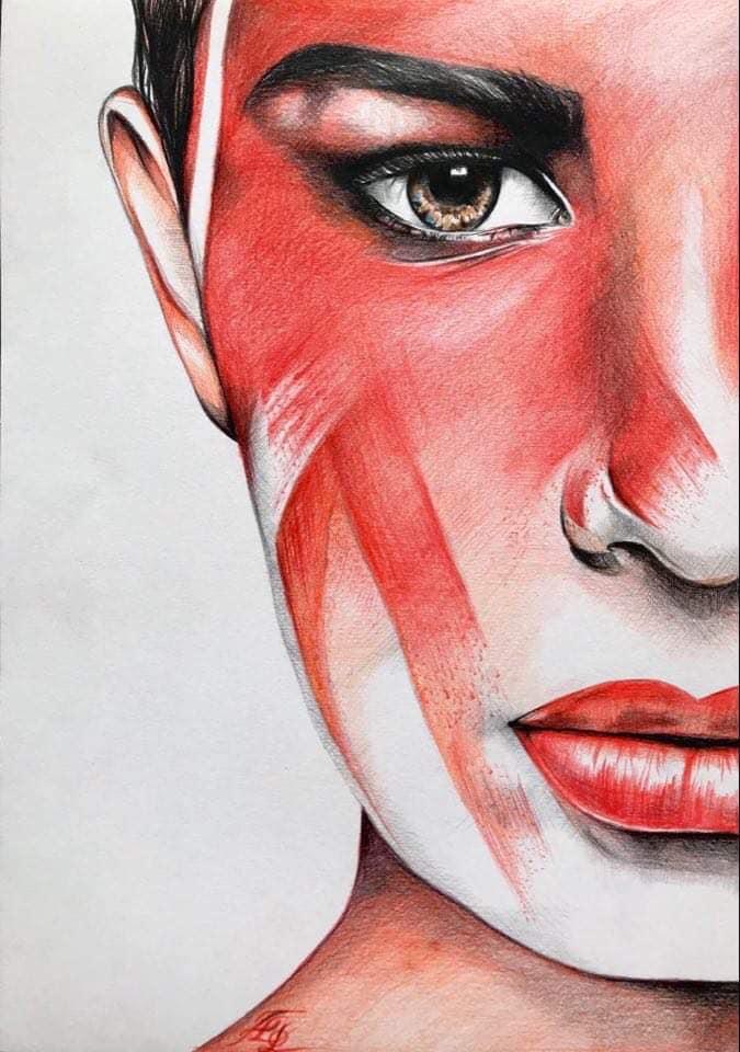 Dessin - 29,7 x 42 - Crayon de couleur